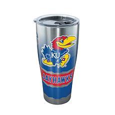 Officially Licensed NCAA 30 oz Stainless Steel Tumbler-Kansas Jayhawks