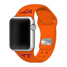 Officially Licensed NCAA 38/40mm Silicone Apple Watch Band- VA Tech