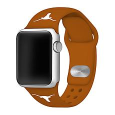 Officially Licensed NCAA 38mm/40mm Silicone Apple Watch Band - Texas