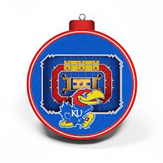 Officially Licensed NCAA 3D StadiumView Ornament 2-pack - Kansas