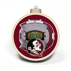 Officially Licensed NCAA 3D StadiumView Ornament 2-pack-Florida State