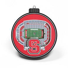 Officially Licensed NCAA 3D StadiumView Ornament 2-pack - NC. State