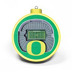 Officially Licensed NCAA 3D StadiumView Ornament 2-pack - Oregon