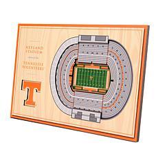 Officially-Licensed NCAA 3D StadiumViews Display- Tennessee Volunte...