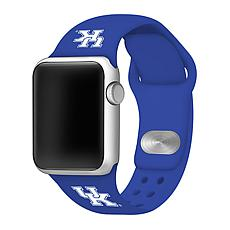 Officially Licensed NCAA 42/44mm Silicone Apple Watch Band - Kentucky