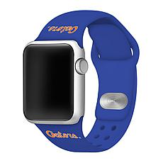 Officially Licensed NCAA 42mm/44mm Silicone Apple Watch Band - Florida