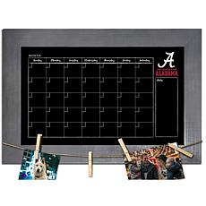 Officially Licensed NCAA Alabama Monthly Chalkboard w/ Clothespins