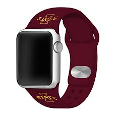 Officially Licensed NCAA Apple Watch Band - Iowa State(38/40mm Maroon)