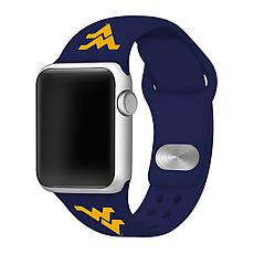 Officially Licensed NCAA Apple Watch Band- West Virginia(38/40mm Navy)