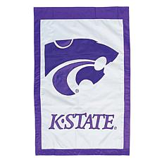 Officially Licensed NCAA Applique House Flag - Kansas State