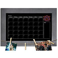 Officially Licensed NCAA Auburn Monthly Chalkboard w/ Clothespins