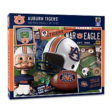 Officially Licensed NCAA Auburn Tigers Retro Series 500-Piece Puzzle