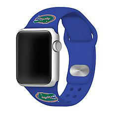 Officially Licensed NCAA Blue 42/44MM Apple Watch Band- Florida Gat...
