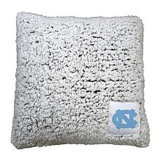 Officially Licensed NCAA by Logo Chair Frosty Throw Pillow - NC