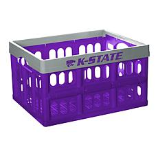 Officially Licensed NCAA Collapsible Crate - Kansas
