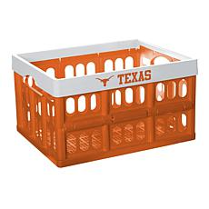 Officially Licensed NCAA Collapsible Crate - Texas Team