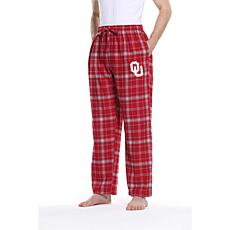 Officially Licensed NCAA Concepts Sport Men's Flannel Pant-Oklahoma