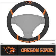 Officially Licensed NCAA Embroidered Steering Wheel Cover-Oregon State
