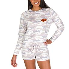 Officially Licensed NCAA Encounter Ladies Top & Short Set - OK State