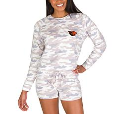 Officially Licensed NCAA Encounter Ladies Top & Short Set - OSU