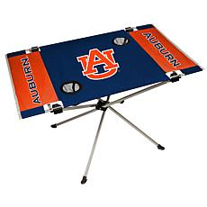 Officially Licensed NCAA Endzone Folding Tailgate Table -Auburn