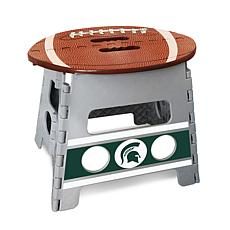 Officially Licensed NCAA Folding Step Stool- Michigan State University