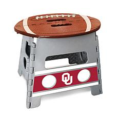 Officially Licensed NCAA Folding Step Stool - University of Oklahoma