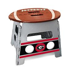 Officially Licensed NCAA Folding Step Stool - University of Georgia