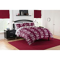 Officially Licensed NCAA Full Bed in a Bag Set - Texas A&M Aggies