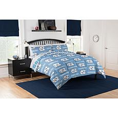 Officially Licensed NCAA Full Bed In a Bag Set - UNC Tar Heels