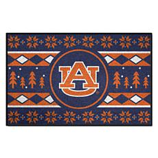Officially Licensed NCAA Holiday Sweater Mat - Auburn University