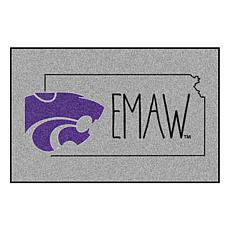 "Officially Licensed NCAA Kansas State 19"" x 30"" Southern Style Rug"