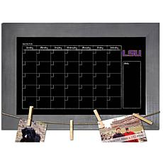 Officially Licensed NCAA LSU Monthly Chalkboard w/ Clothespins