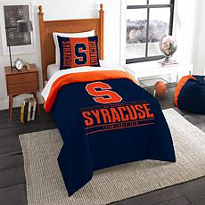 Officially Licensed NCAA Modern Take Twin Comforter Set - Syracuse