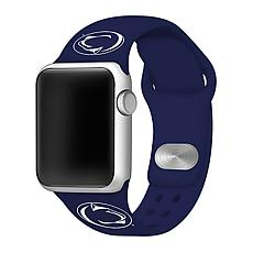 Officially Licensed NCAA Navy 42/44MM Apple Watch Band - Penn State