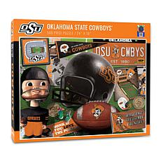 Officially Licensed NCAA Oklahoma State Cowboys Retro 500-Piece Puzzle
