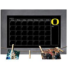 Officially Licensed NCAA Oregon Monthly Chalkboard w/ Clothespins