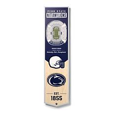 Officially Licensed NCAA Penn State Nittany Lions 3D Stadium Banner