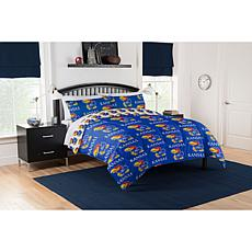 Officially Licensed NCAA Queen Bed in a Bag Set - Kansas Jayhawks
