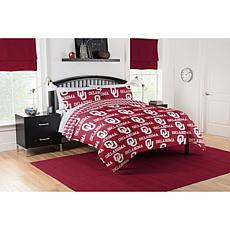 Officially Licensed NCAA Queen Bed in a Bag Set - Oklahoma Sooners