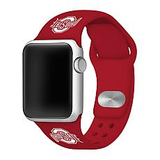 Officially Licensed NCAA Red 38/40MM Apple Watch Band - Ohio State