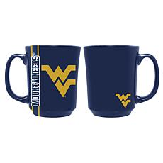 Officially Licensed NCAA Reflective 11 oz. Coffee Mug - West Virginia