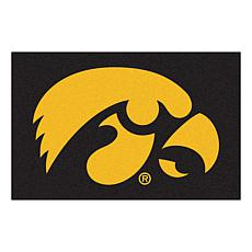Officially Licensed NCAA Rug - University of Iowa