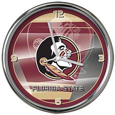 Officially Licensed NCAA Shadow Chrome Clock - Florida State