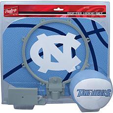 Officially Licensed NCAA Slam Dunk Softee Hoop Set - North Carolina