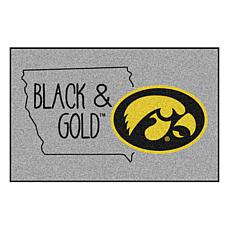 Officially Licensed NCAA Southern Style Rug - University of Iowa