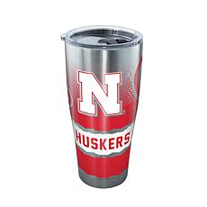 Officially Licensed NCAA Stainless Steel Tumbler- Nebraska Cornhuskers