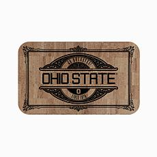 "Officially Licensed NCAA Team Logo 18"" x 30"" Cork Mat - Ohio State Un."