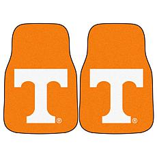 Officially Licensed NCAA Tennessee Volunteers Carpet Car Mat 2-Pc Set