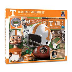 Officially Licensed NCAA Tennessee Volunteers Retro 500-Piece Puzzle